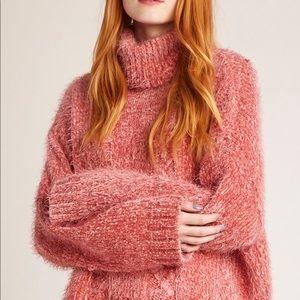 BB Dakota Eyelash Kisses Sweater in Blush pink
